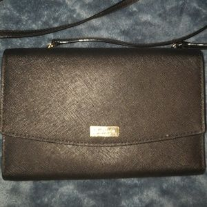 EUC Kate Spade Wallet Purse Black